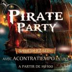 Pirate-Party à Rabat
